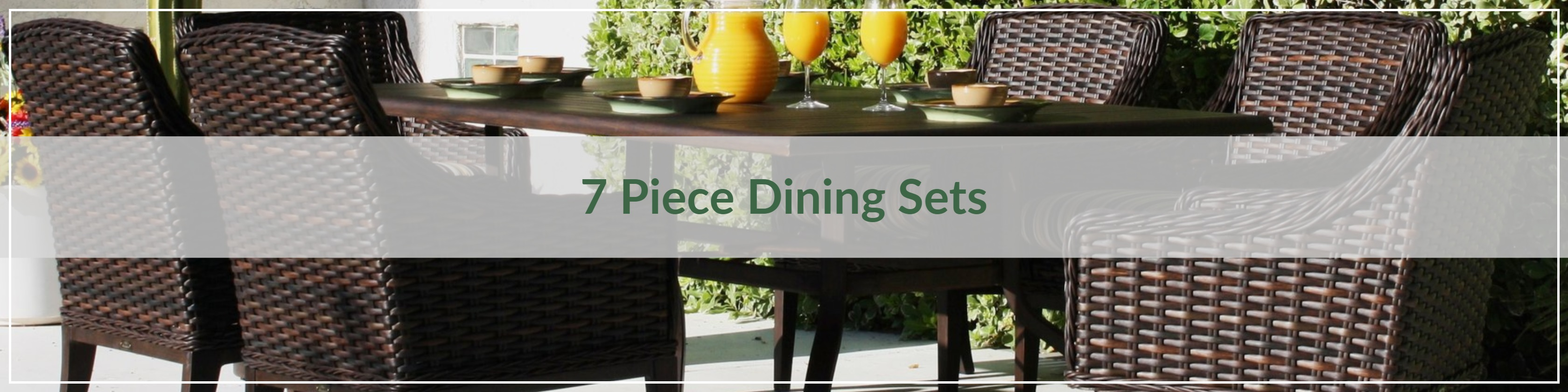 7 Piece Outdoor Dining Sets