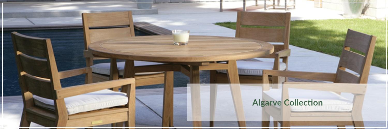 Kingsley Bate Algarve Teak Outdoor Dining