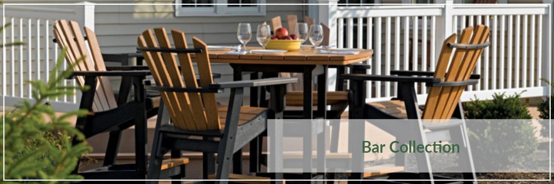 Breezesta Poly Wood Bar Outdoor Dining