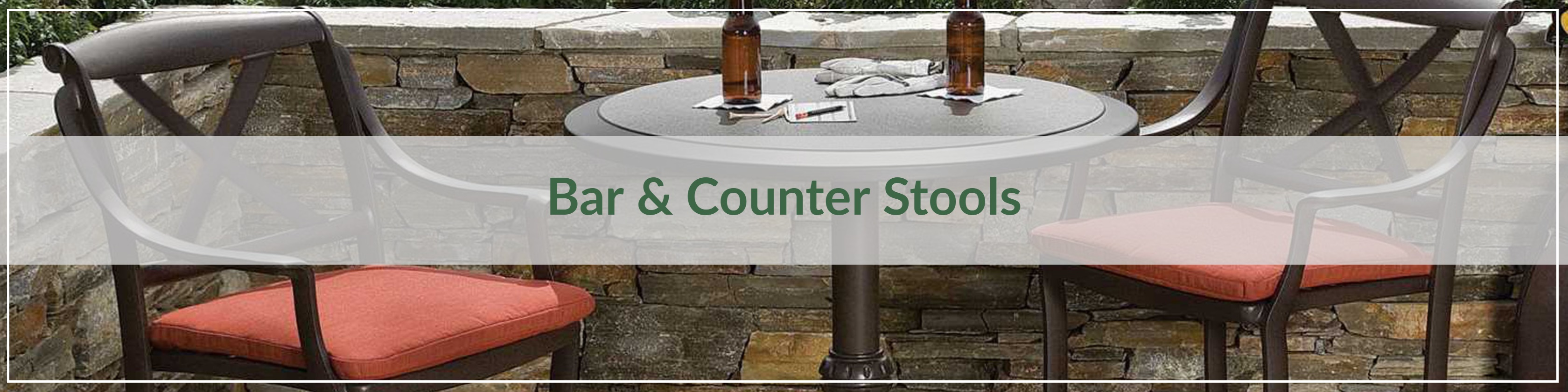Outdoor Bar & Counter Stools