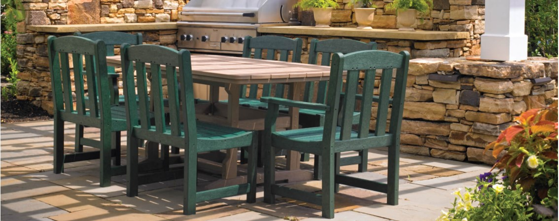 Breezesta Outdoor Furniture - Recycled Poly - Skyline Captain Chairs