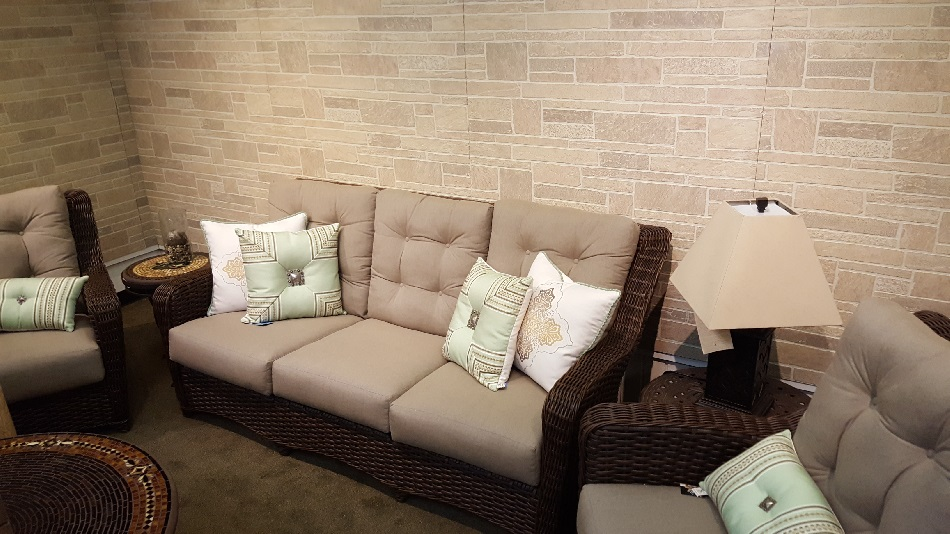 The Cabana 3 Pc Wicker Seating Group from Lloyd Flanders