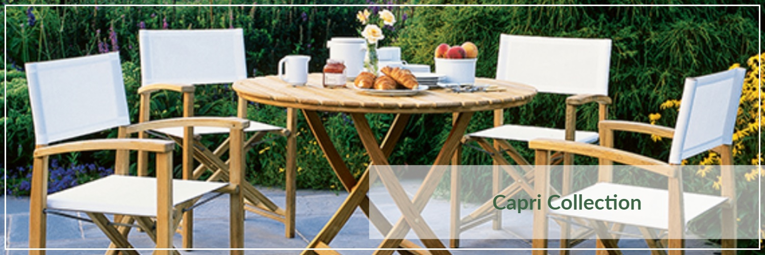 Kingsley Bate Capri Teak Outdoor Dining