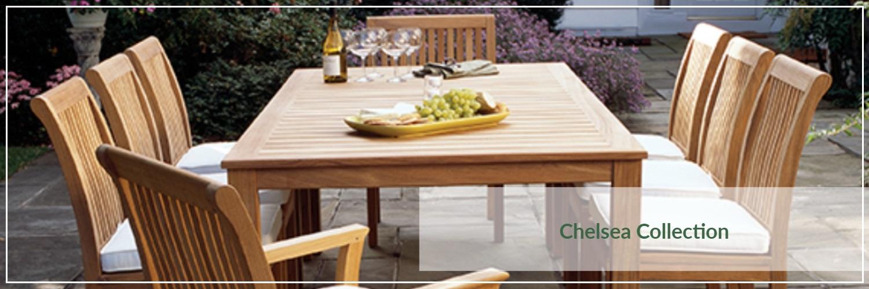 Kingsley Bate Chelsea Teak Outdoor Dining