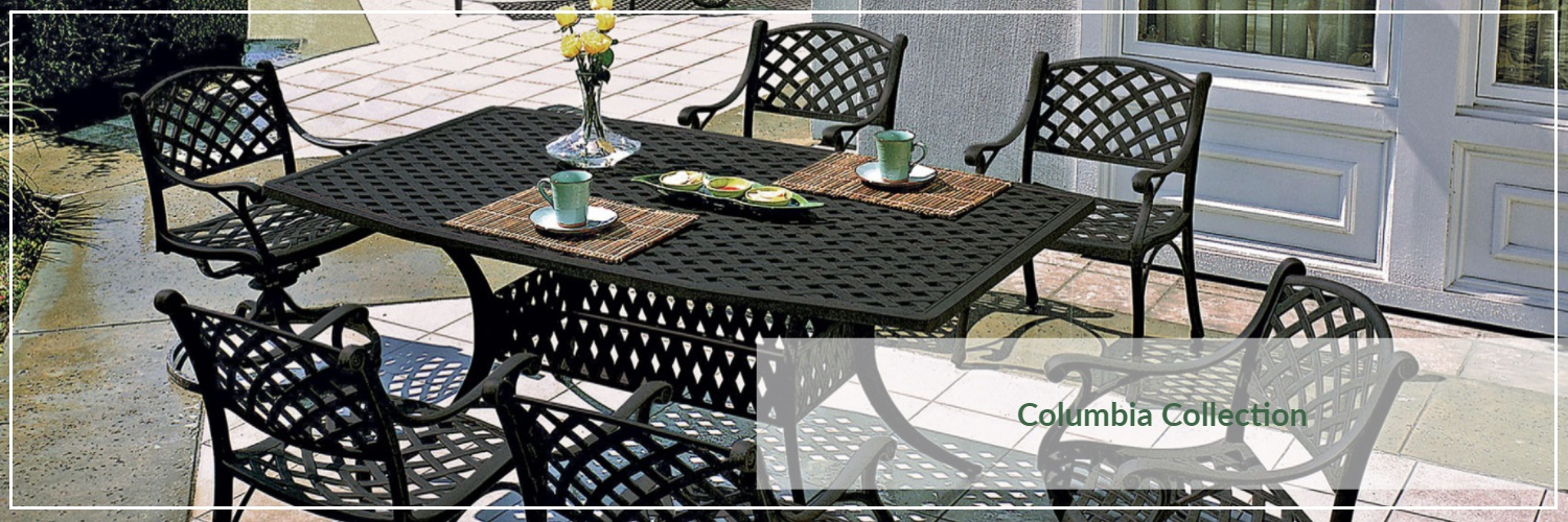 Gensun Columbia Cast Aluminum Outdoor Dining