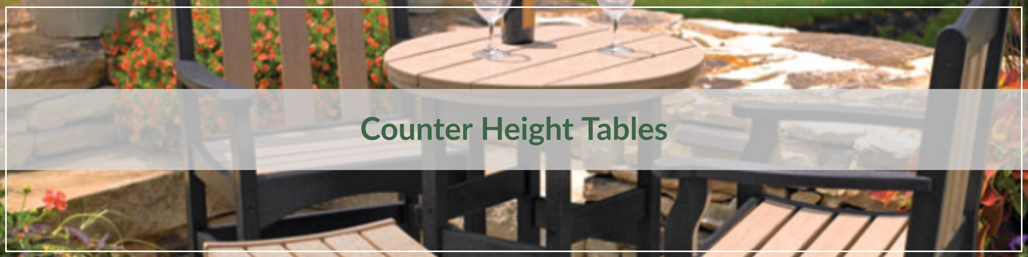 Outdoor Counter Height Tables