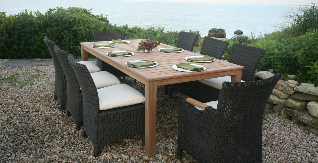 Kingsley Bate Outdoor Furniture Culebra Featured Here