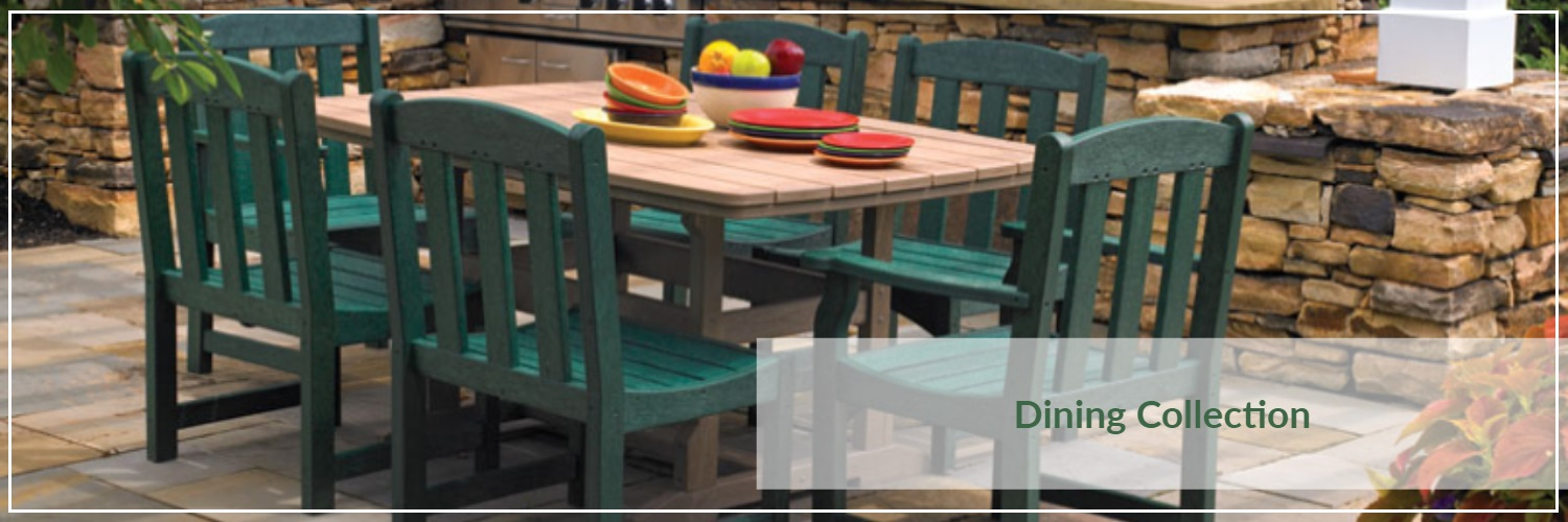 Breezesta Poly Wood Outdoor Dining