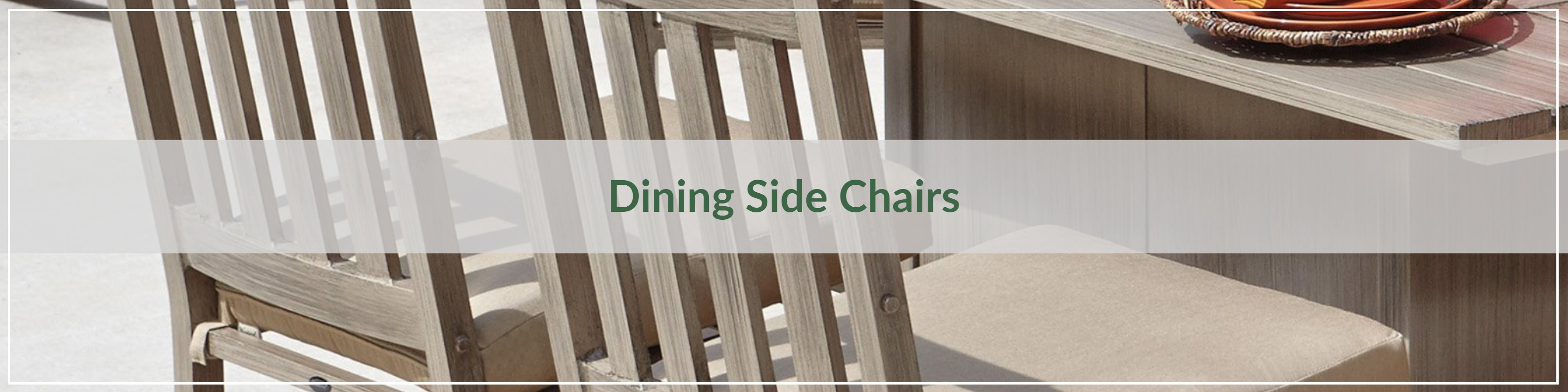 Outdoor Dining Side Chairs
