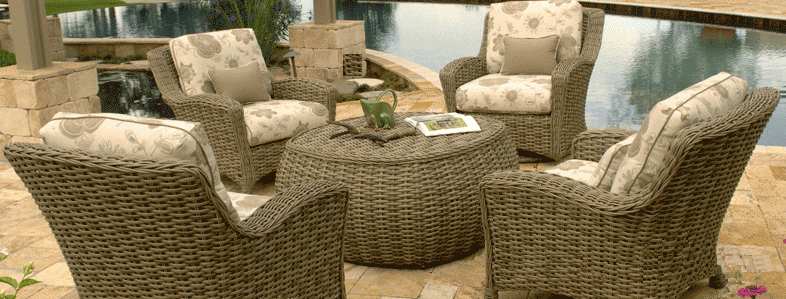 Ebel's Dreux Collection of Deep Seating for the Patio
