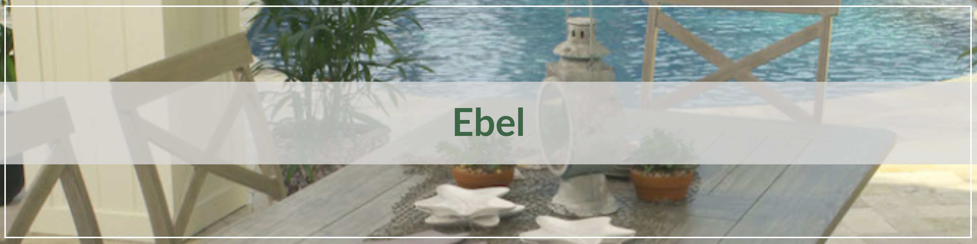 Ebel Extruded Aluminum Outdoor Dining