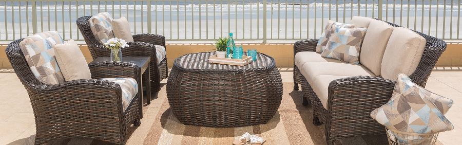 The Dreux Collection from Ebel | Wicker Dining