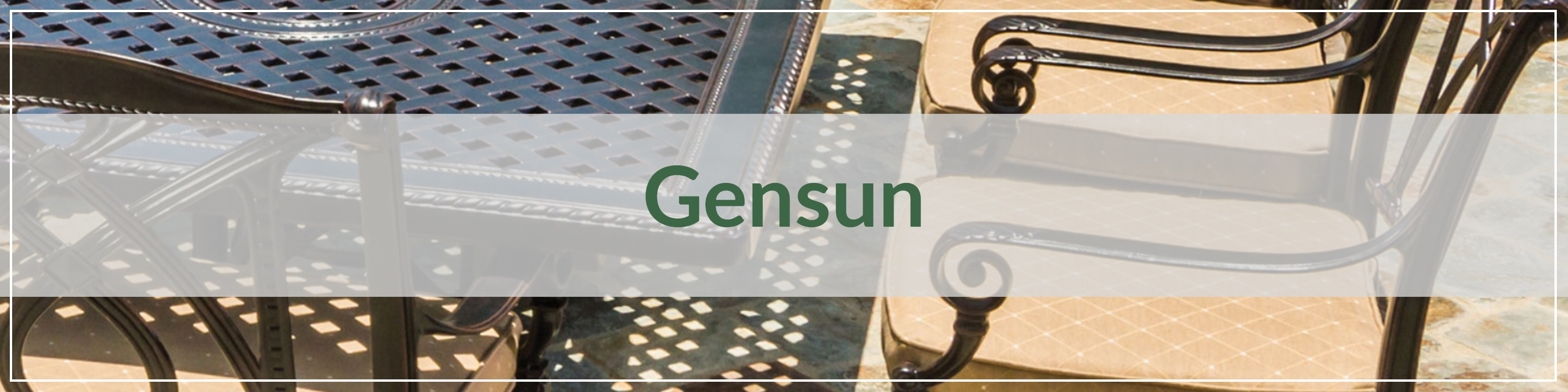 Gensun Cast Aluminum Outdoor Dining