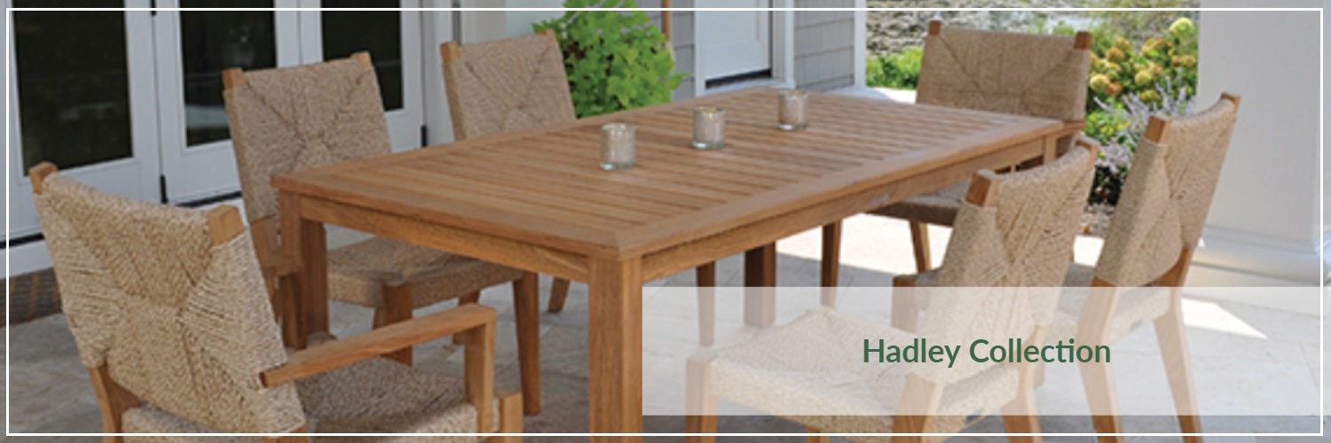 Kingsley Bate Hadley Teak Outdoor Dining