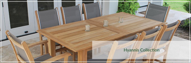 Kingsley Bate Hyannis Teak Outdoor Dining