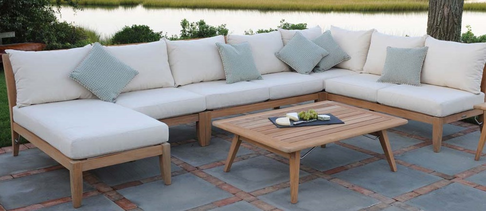 Wood | Teak Outdoor Deep Seating Options