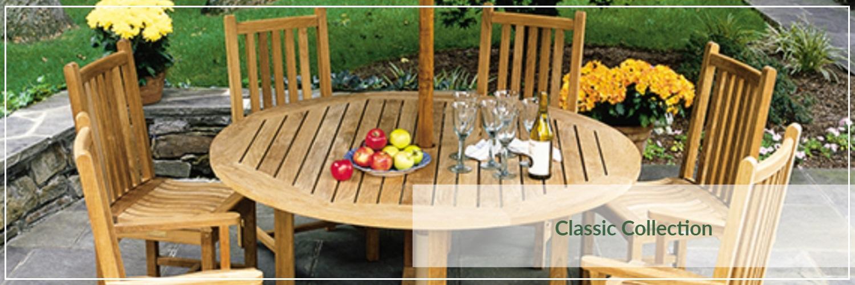 Kingsley Bate Classic Teak Outdoor Dining