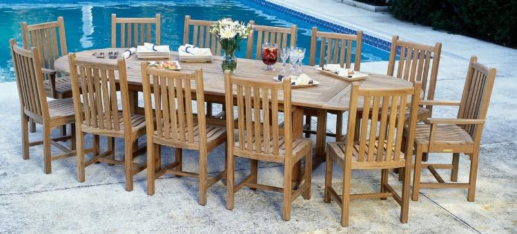 Kingsley Bate Teak Patio Dining Furniture