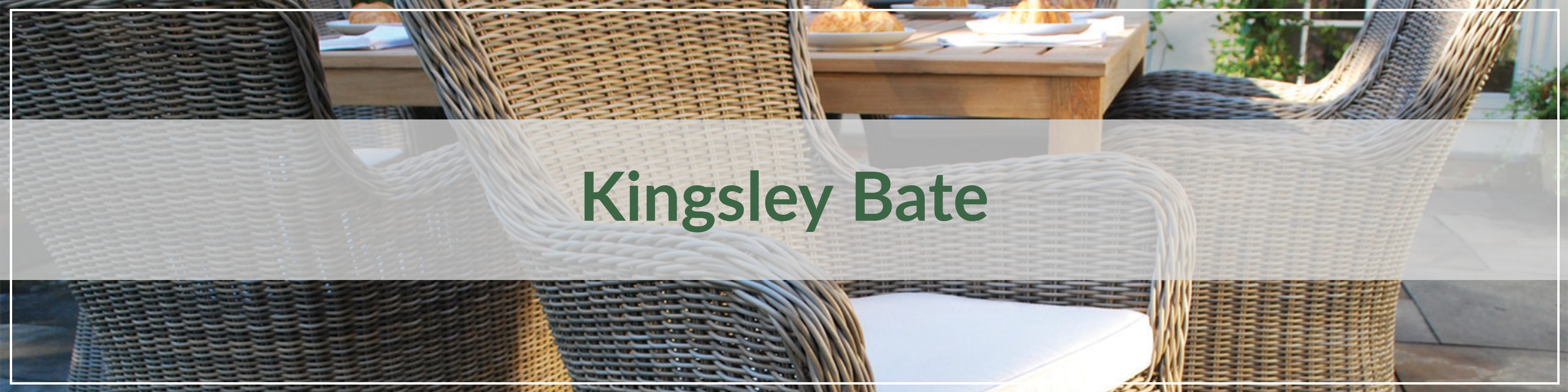 Kingsley Bate Resin Wicker Dining