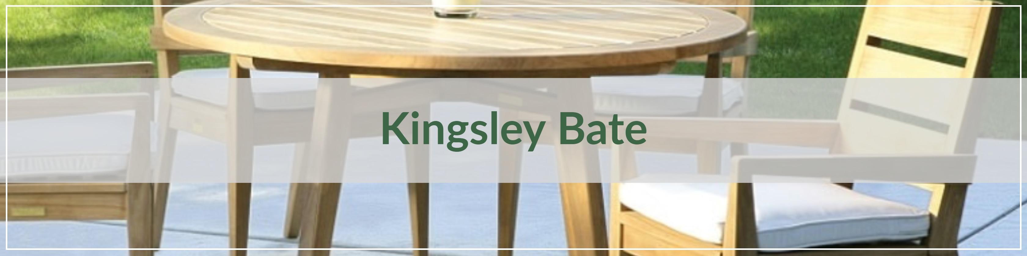 Kingsley Bate Wood Outdoor Dining