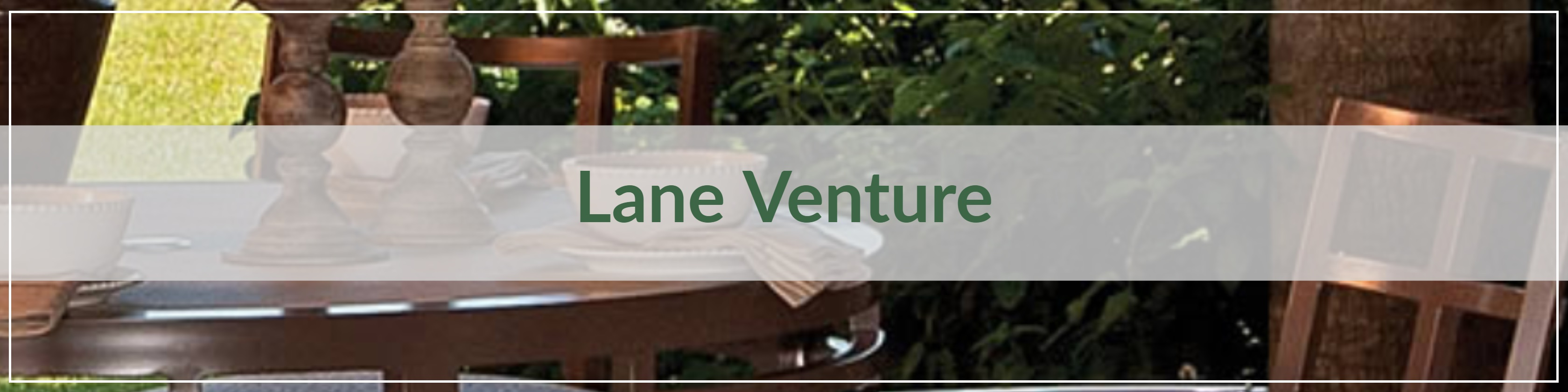 Lane Venture Cast Aluminum Dining