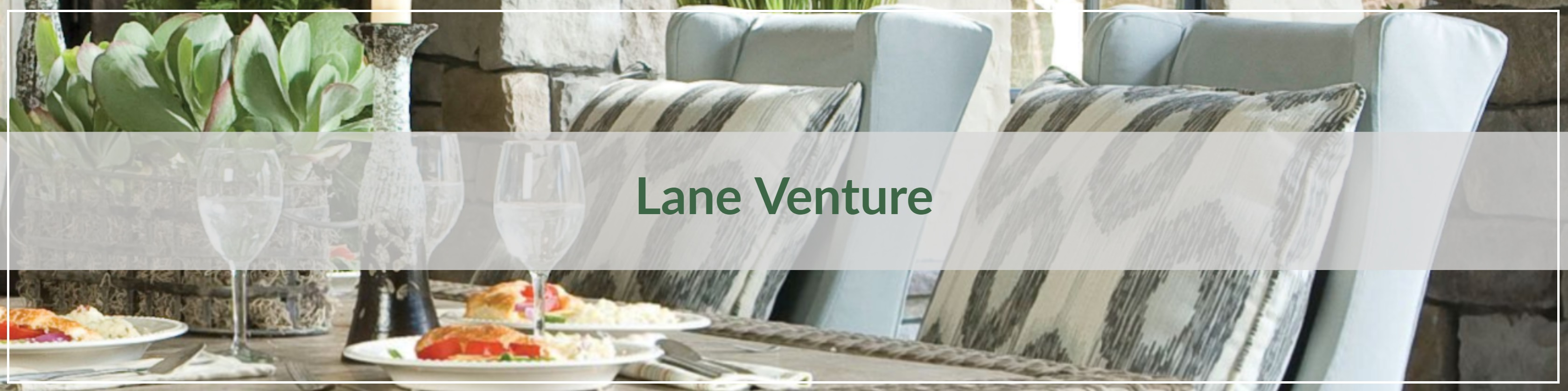 Lane Venture Upholstery Outdoor Dining