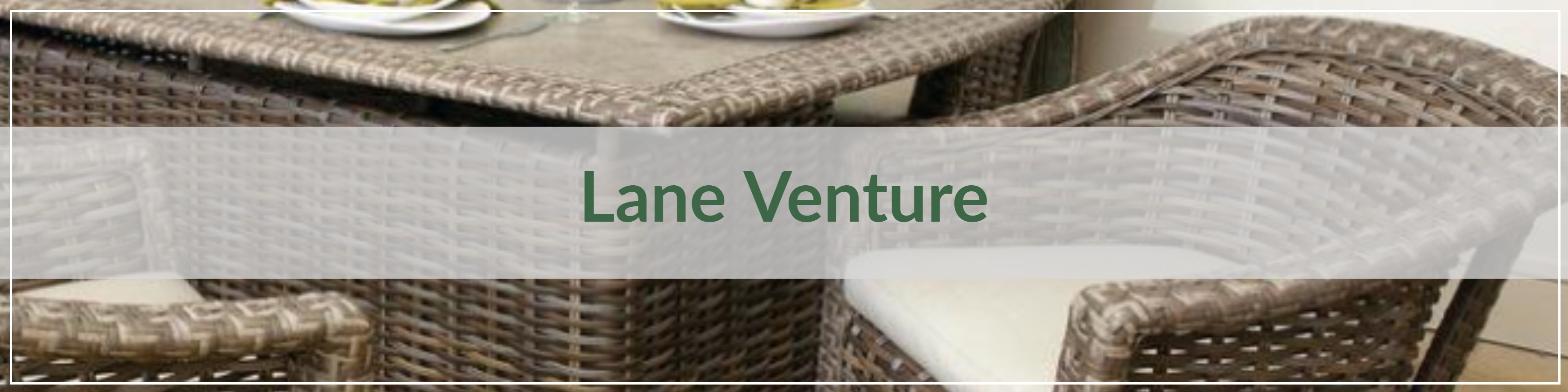 Lane Venture Resin Wicker Dining