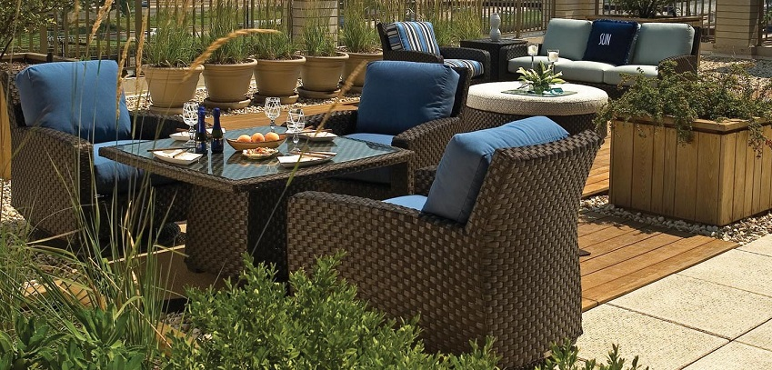 Leeward Wicker Dining Furniture from Lane Venture