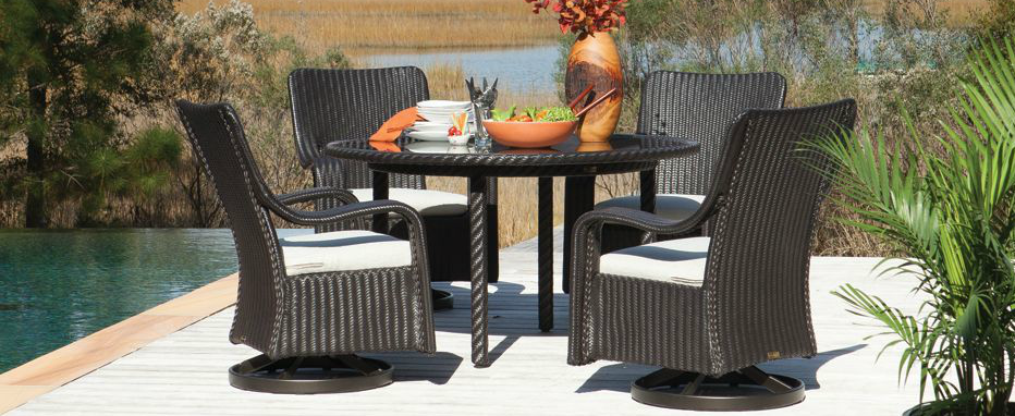 Outdoor Dining Wicker - The Marcello from Lane Venture