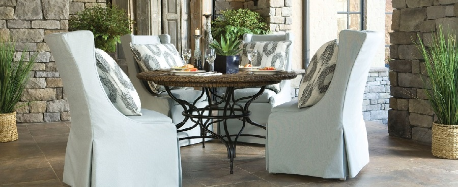 Upholstered Outdoor Dining Sets