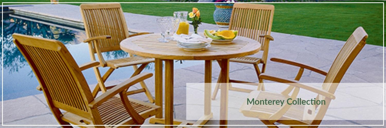 Kingsley Bate Monterey Teak Outdoor Dining