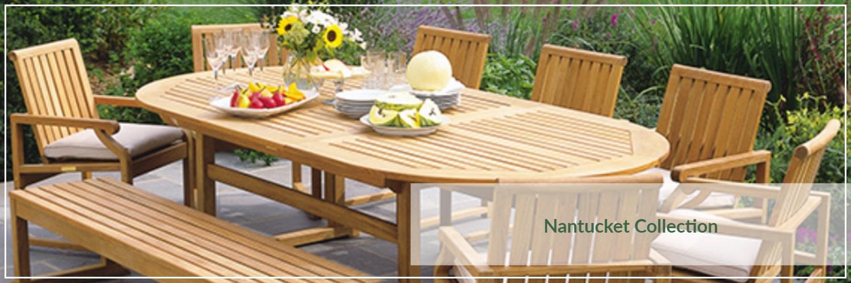 Kingsley Bate Nantucket Teak Outdoor Dining