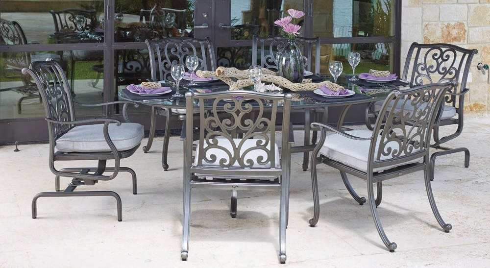 New Orleans Outdoor Dining Furniture by Woodard