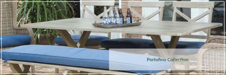 Ebel Portofino Extruded Aluminum Outdoor Dining