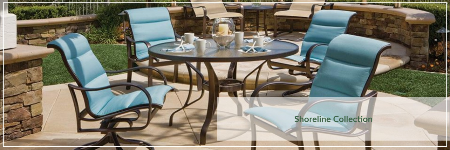 Tropitone Shoreline Extruded Aluminum Outdoor Dining