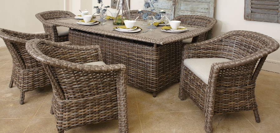 Outdoor Wicker Dining Furniture - St. Simons Collection