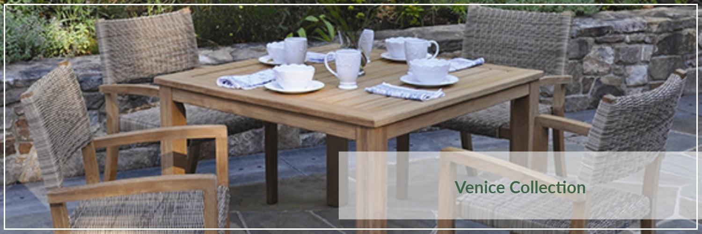 Kingsley Bate Venice Teak Outdoor Dining