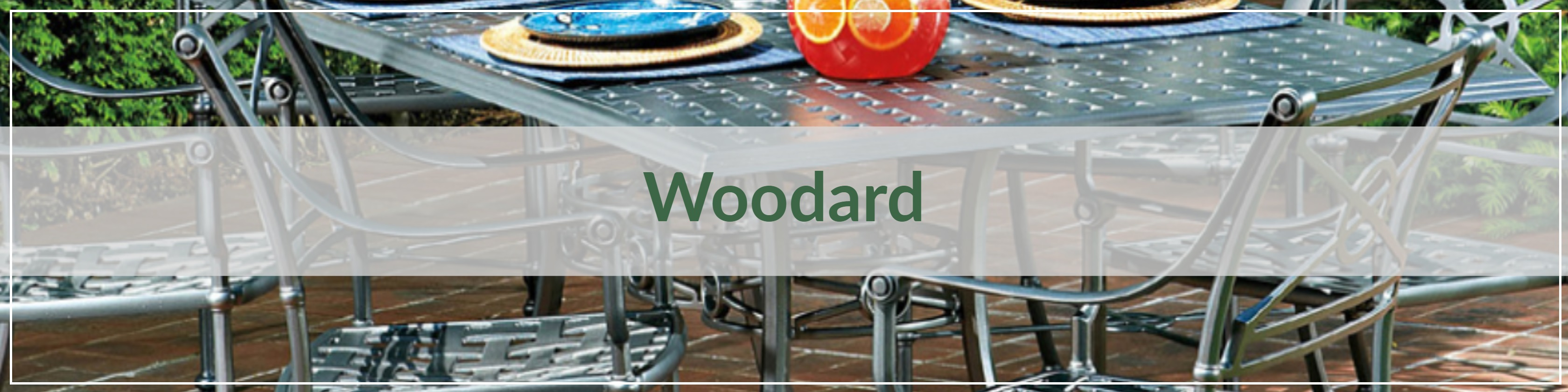 Woodard Cast Aluminum Outdoor Dining