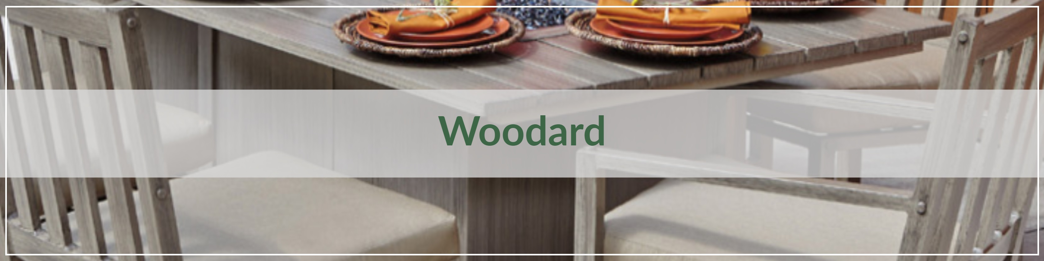 Woodard Extruded Aluminum Outdoor Dining